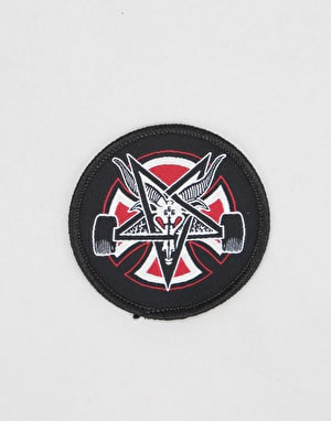 Independent x Thrasher Pentagram Cross Patch