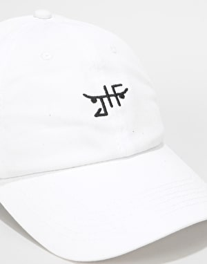 Just Have Fun Classic Dad Cap - White