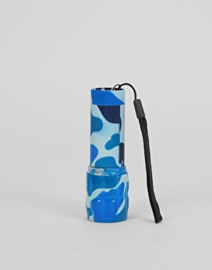 RIPNDIP Nermal Camo Mini Flashlight - Blue Camo