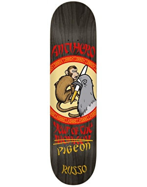 Anti Hero Russo Year of the Pigeon Skateboard Deck - 8.38