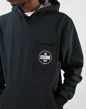 Sessions Nighthawk Graphic Pullover Hoodie - Black
