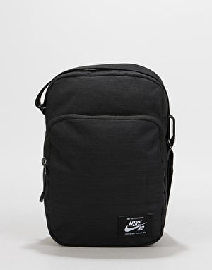 Nike SB Heritage Cross Body Bag - Black/Black/White