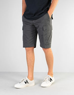 Element Legion Cargo Shorts - Off Black