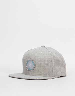 Route One Vortex Snapback Cap - Heather Grey