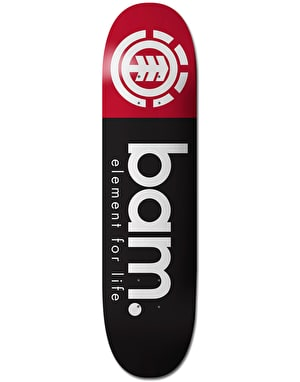 Element Bam For Life Skateboard Deck - 8.25