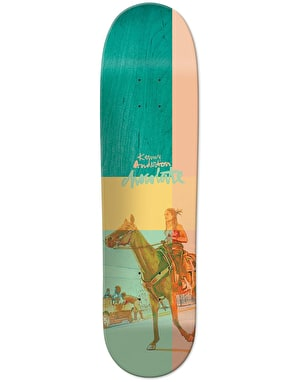 Chocolate Anderson City Cowboys Pro Deck - 8.125