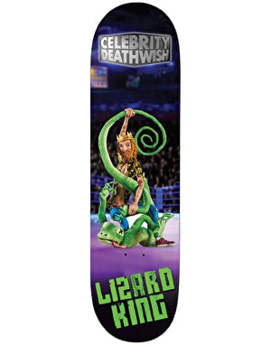 Deathwish Lizard King Celebrity Deathwish Skateboard Deck - 8