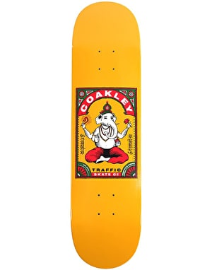 Traffic Coakley Ganesha Skateboard Deck - 8.6