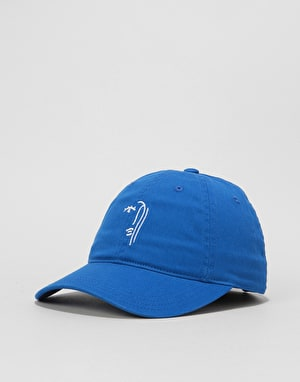 Route One Abstract Cap - Royal Blue