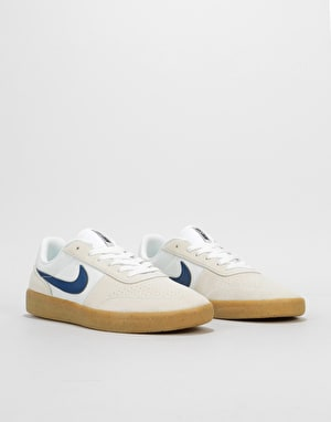 Nike SB Team Classic Skate Shoes - Summit White/Blue Void-White