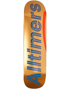 Alltimers Shiny Oranges Logo Skateboard Deck - 8.3