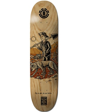 Element x Timber! Settler Skateboard Deck - 8.25