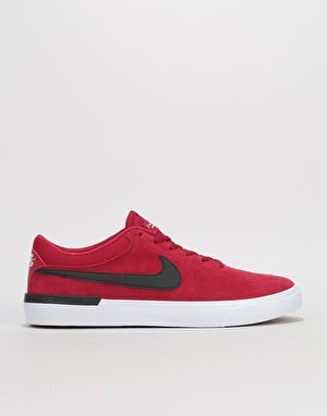 Nike SB Hypervulc Eric Koston Skate Shoes - Red Crush/Black-White