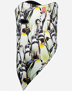 Airhole Standard 2 Layer Facemask - Penguins