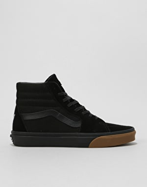 Vans Sk8-Hi Skate Shoes - Black/Schoph