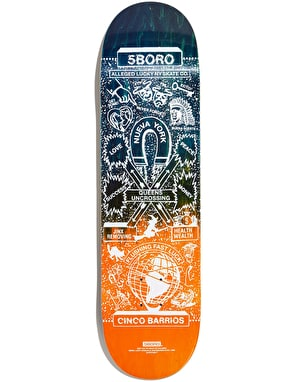 5Boro Lucky Queens Skateboard Deck - 8.375