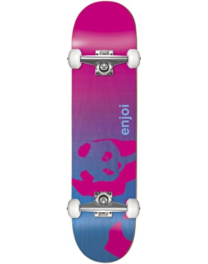 Enjoi Faded Panda Soft Top Micro Complete Skateboard - 6.5