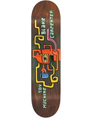 Toy Machine Carpenter Squared Pro Deck - 8.375