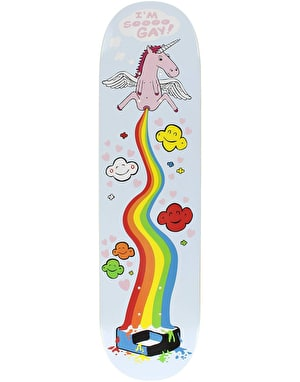 Consolidated So Gay Skateboard Deck - 8.25
