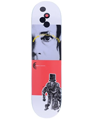 Quasi Jazz' One - Red Skateboard Deck - 8
