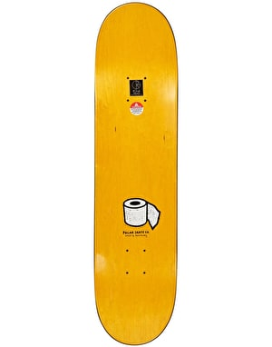 Polar Brady Toilet Skateboard Deck - 8.38