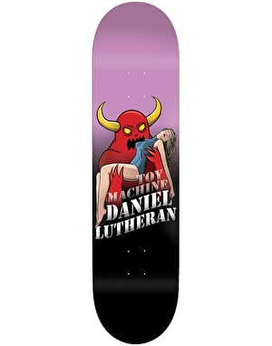 Toy Machine Lutheran Damsel Pro Deck - 8.375
