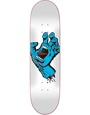 Santa Cruz Screaming Hand Taper Tip Skateboard Deck - 8.5