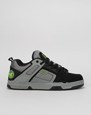 DVS Comanche Skate Shoes - Grey/Charcoal Nubuck