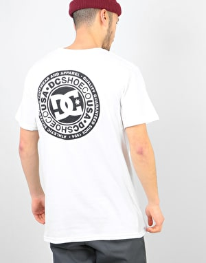DC Circle Star FB T-Shirt - Snow White