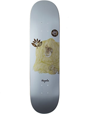 Magenta Monkey Skateboard Deck - 8.6