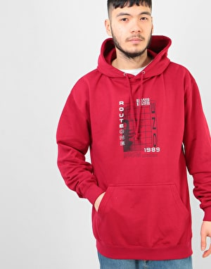 Route One Android Pullover Hoodie - Chilli