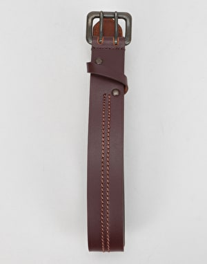 Dickies Bluefield Leather Belt - Dark Brown