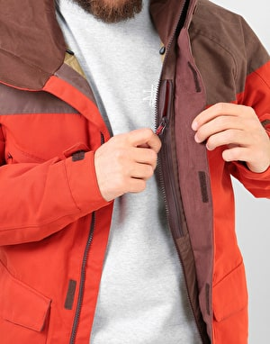 Burton Breach 2019 Snowboard Jacket - Bitters/Chestnut Waxed