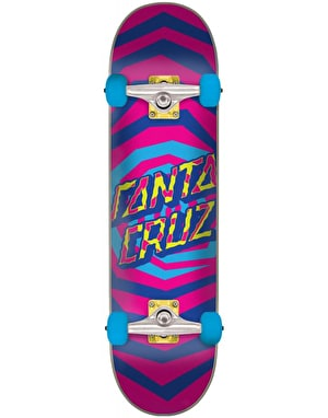 Santa Cruz Illusion Dot Pink Complete - 7.25