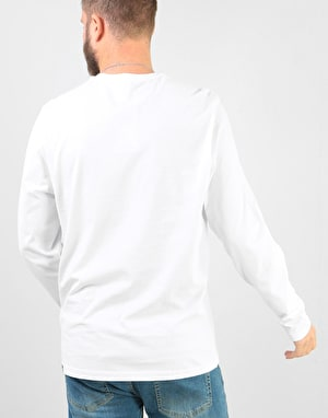 The North Face L/S Fine T-Shirt - TNF White