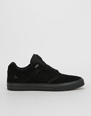 Emerica Reynolds 3 G6 Vulc Skate Shoes - Black/Black