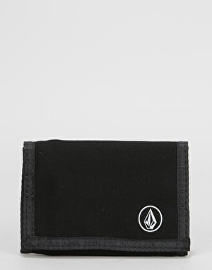Volcom Full Stone Cloth Wallet - Black