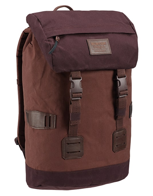 9400dc6adf01 Burton Tinder Pack - Cocoa Brown Waxed Canvas