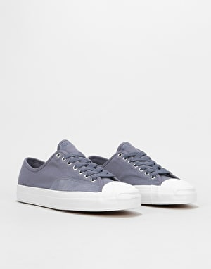 Converse Jack Purcell Pro Ox Skate Shoes - Light Carbon/Light Carbon