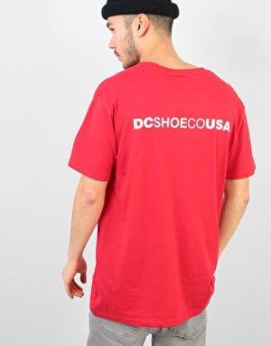 DC Stage Box T-Shirt - Tango Red