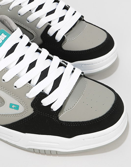 Globe Agent Skate Shoes - Black/Charcoal/Teal