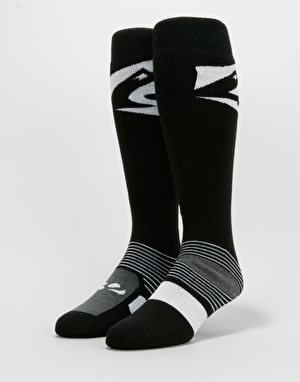 ThirtyTwo Corp Snowboard Socks - Black