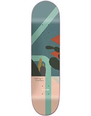 Chocolate Alvarez Hecox Tropical Studies Skateboard Deck - 8