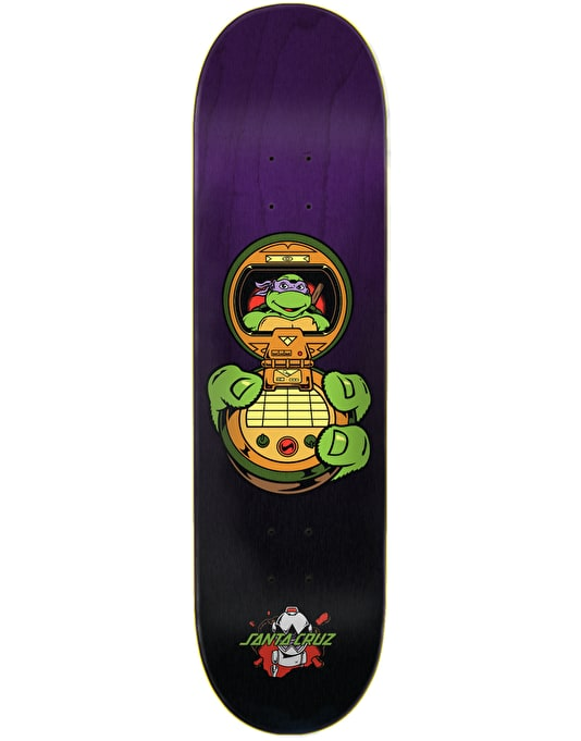 Santa Cruz x TMNT Donatello Skateboard Deck - 8.13""