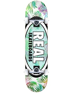 Real Oval Tropics Complete Skateboard - 7.75