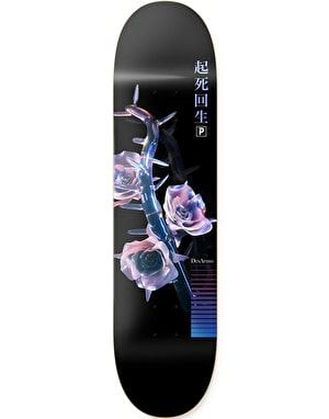 Primitive Desarmo Glass Rose Skateboard Deck - 8.13