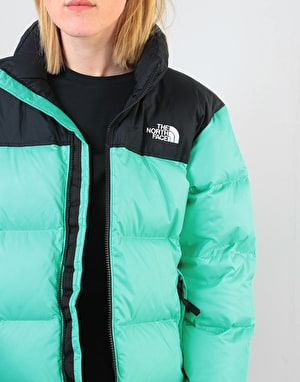 The North Face Womens 1996 Retro Nuptse Jacket - Retro Green