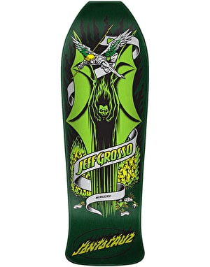 Santa Cruz Grosso Demon Reissue Skateboard Deck - 9.98