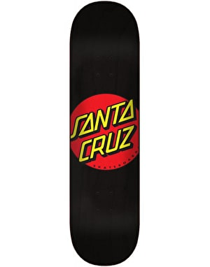 Santa Cruz Classic Dot Wide Tip Skateboard Deck - 8.5
