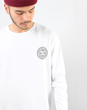 DC Splitted L/S T-Shirt - Snow White